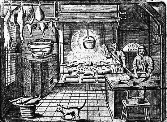 Les ouvrages livres et recueils de recettes de la cuisine for Cuisinier xviii